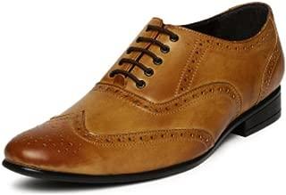 San Frissco Men's Formal Shoes-8 UK/India (42 EU) (EC 3501_TAN-8)