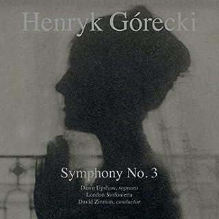 Gorecki: Symphony No 3 [VINYL] by Dawn Upshaw London Sinfonietta (B012CZ4Z88) | Amazon price tracker / tracking, Amazon price history charts, Amazon price watches, Amazon price drop alerts