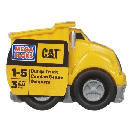 Mega Bloks Camión volquete de gato
