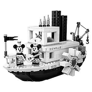 Amazon.co.jp - レゴ アイデア 蒸気船ウィリー 21317