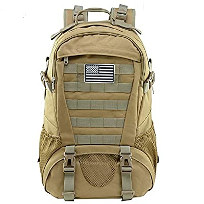 Military Backpack for Men Tactical Molle Daypack Waterproof Rucksack Pack 30L