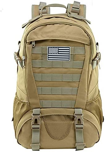 Tactical Backpack for Men Molle Military Rucksack Pack Waterproof Daypack 30L with USA Flag product image
