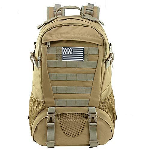 Jueachy Tactical Backpack für Herren Molle Military Rucksack Wasserdichter Tagesrucksack Große Kapazität 30L Militärischer taktischer Rucksack Army Assault Pack