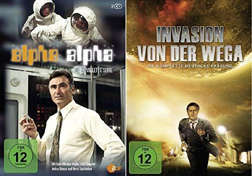 Alpha Alpha - Die komplette Serie + Invasion von der Wega - Die komplette deutsche Fassung