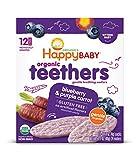 Happy Baby Gentle Teethers Organic Teething Wafers Blueberry...