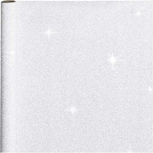 Inpakpapier, B: 50 cm, 80 g, zilver, 3m