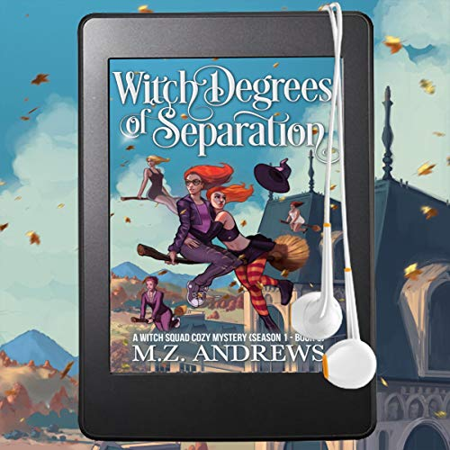 Witch Degrees of Separation audiobook cover art