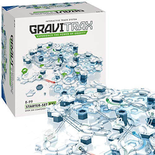 Ravensburger 27615 GraviTrax Kugelbahn-Starter-Set XXL, Single