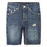 Levi's Boys' Big 511 Slim Fit Denim Shorts, Blue Asphalt, 14