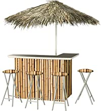 Best of Times 2003W2303P Hawaiian Bamboo-PALAPA, One Size, Brown