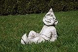 Unbekannt Gartenfigur Troll liegt - Garten, Figur, Troll