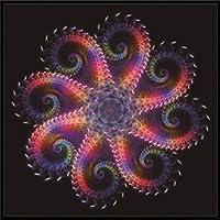 5DDIY抽象ダイヤモンド絵画塗装ダイヤモンドフラワー手作りクロスステッチセット刺繡モザイククリスマスデコレーション