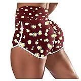 Kobay Pantalon Femme Pyjama Eté Ample Elastique d'intérieur Jogging Détente