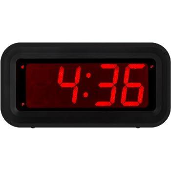 Petit Réveil LED numérique avec gradateur et Snooze