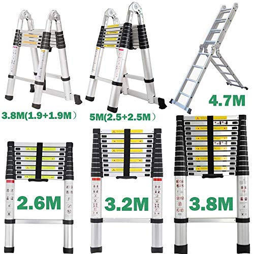 Telescopic Multipurpose Ladder