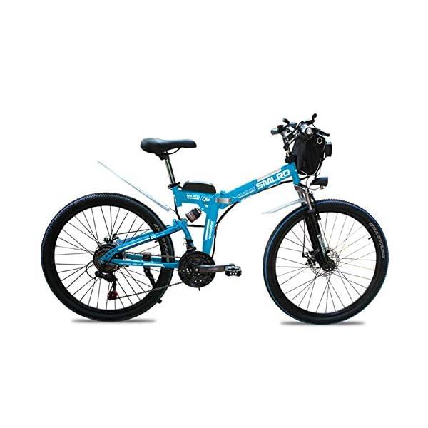 515sgv1u0VL. SS600  - Knewss 26 Mx300 zusammenklappbares Elektrofahrrad Shimano 7-Gang E-Bike 48 V Lithiumbatterie 350 W 13ah Motor Elektrofahrrad für Erwachsene