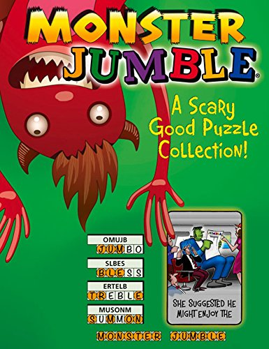 Monster Jumble®: A Scary Good Puzzle Collection! (Jumbles®)