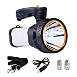 CSNDICE LED Rechargeable Handheld Searchlight...
