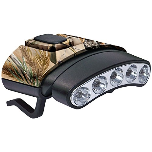 Cyclops Tilt 5 LED Hat Clip Light Camo