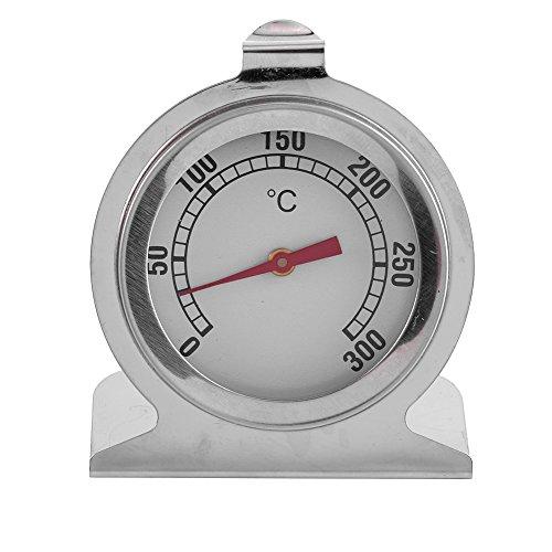 Rehomy Küchenthermometer, 1 Stück, Edelstahl, tragbares Ofenthermometer Küche Backen Temperatur Lebensmittel Kochen Backen Temperatur Messwerkzeug heiß