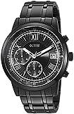 Guess Reloj de Cuarzo Reloj Casual Acero Inoxidable, Color: Negro (Modelo: u1001g3)