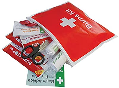 Evolution First Aid Burn Kit (Zip lock Wallet) by Safety First Aid Group