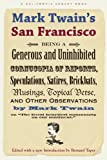 Mark Twain in San Francisco.