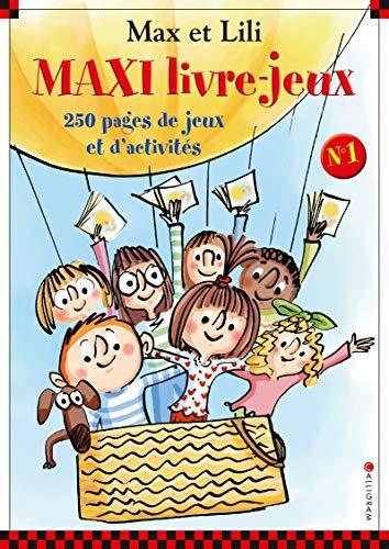 Maxi livre-jeux - numéro 1 - Max et Lili (01)