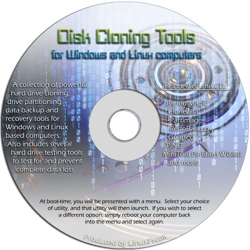 Disk Drive Cloning Tools on CD -...
