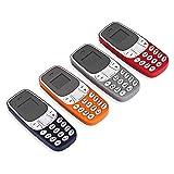 VIDOELETTRONICA Mini Telefono Bluetooth Micro Dual Sim Cellulare Tascabile Chiamate Gsm Sms Mp3 ATTENZIONE COLORE CASUALE.