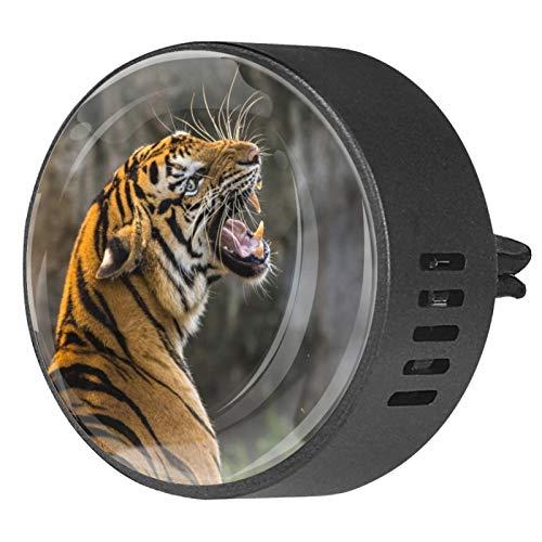 MUMIMI 2 difusor de ventilación para coche, difusor de aceites esenciales, ambientador de tigre