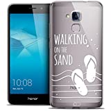 Carcasa para Huawei Honor 5C, Ultra Fin Summer Walking on The Sand