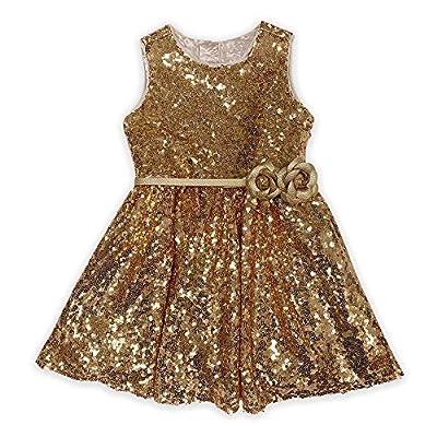 Disney Belle Fancy Dress for Girls – Beauty and The Beast, Size 7/8