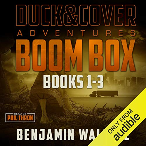 Boom Box audiobook cover art