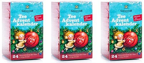 Tee-Adventskalender - Sonnentor, 3er-Pack