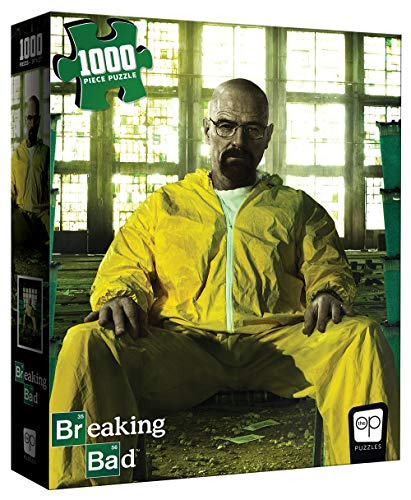 USAopoly Breaking Bad Heisenberg Jigsaw Puzzle - 1000 Pieces