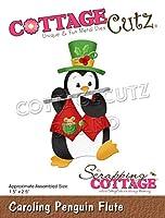 """CottageCutz Dies-Caroling Penguin Flute 1.5""""X2.5"""""""