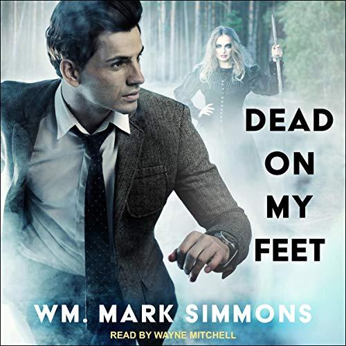 Dead on My Feet audiobook cover art
