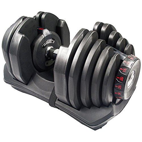 Toorx Manubrio a carico Regolabile 40 kg MCR-40 Unisex Adulto, Nero, 66X43X43