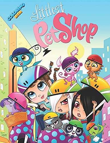 Littlest Pet Shop Coloring Book: A Fantastic Coloring Book For Lovers Of Littlest Pet Shop. A Way To Relax And Cultivate Creativity