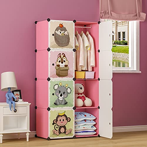 MAGINELS Portable Kid Organizers and Cute Baby Storage Organizer...