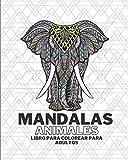 Mandalas animales - Libro para colorear para adultos: 60 maravillosos mandalas - antidepresión - naturaleza - antiestrés - relajación