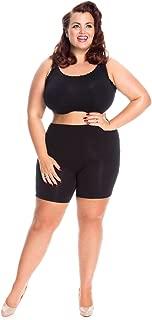 All Woman Plus Size Anti Chafing Short Leg Panties NO Riding UP- Single Pair