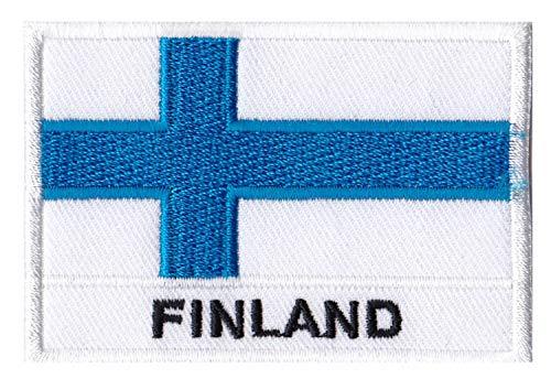 Aufnäher Flagge Finnland