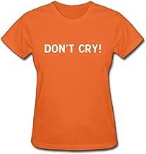 JDY3U Women Don't Cry T-shirt Black