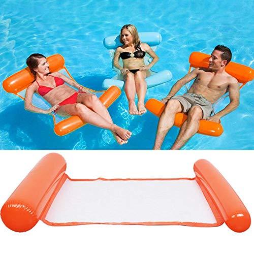 Wasser-aufblasbare Hängematte, Pool-Liege-Sofa / sich hin- und herbewegendes Bett-faltbare Sommer-rückseitige schwimmende Entwässerung auf der Recliner-Pool-Partei-sich hin- und herbewegenden