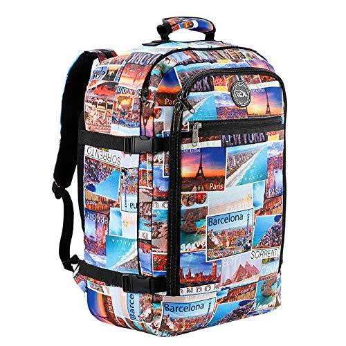 Cabin Max Handgepäck Rucksack 44 Liter - Leichtgewicht Reiserucksack für das Flugzeug Bordgepäck 55x40x20 cm - Robuster & praktischer Backpack - Hochwertiger Kabinenkoffer
