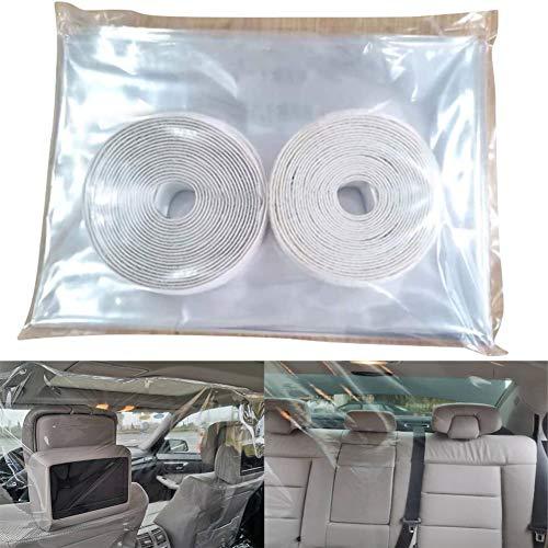 AKDSteel Auto Schutzfolie transparent selbstklebend Taxi Isolationsfolie Schutzfolie Trennwand Schutz Screen Autozubehör Artikel