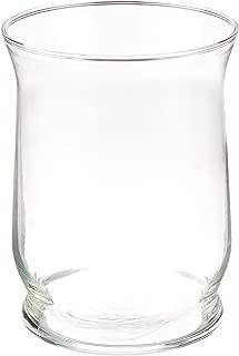 Libbey Adorn 8 inch Tall Clear Hurricane Vase