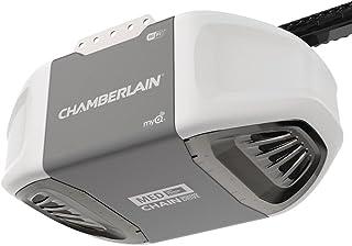 Chamberlain C450 Abridor de puerta de cochera de transmisión por correa, controlado por smartphone, con potencia de elevac...